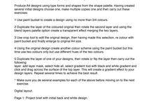 Graphics A1 digital design profile