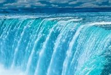 vízesés és vizek