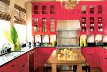 Cool kitchens / by Linda Blott