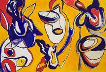 Abstract / #abstract #painting #alexandrakraevaart @krashcher