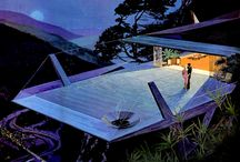 Retrofuturistic Home Ideas / Inspired by 1960s space race ambitions, Japanese style, and modern architecture.  / by Ryken Robbins