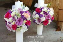 lumanari nunta 50 cm