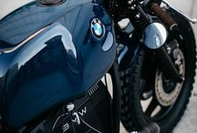 Cars and motorcycles