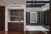 Modern Wine Cellar Designs - Beverly Hills Laurel Way
