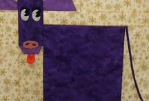 Cow Quilts?  OK. And sheep!