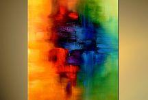 Arte abstracto colores