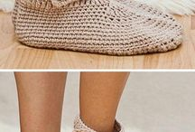 Ankle boots slippers