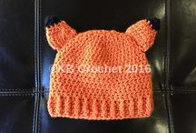 Crochet Character and Animal Hats