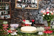 Mesas de noivado,chá de panela,chá de bebê e aniversários!!