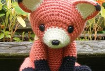 crochet/ knitted toys