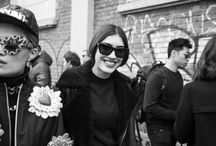 The best of Milan streetstyle / Ph Giorgia Villa  See more about art and fashion on  theworkilove.it