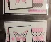 Washitape cards / Homemade cards with washitape Inspired by Camilla Halseth