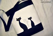 Tulipano műbőr táskák