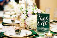 Green & Gold Wedding
