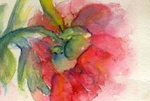 watercolor love / by Aishwarya Vohra