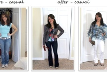Trust in Tricia's Before and After Pics / See the transfomations made when Tricia simply reworks your existing wardrobe or takes you shopping for new items!