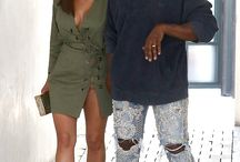 FASHION COUPLES | KIM & KANYE