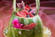 garnish fruit n vegie