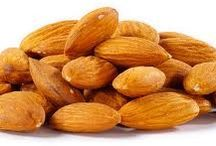 Raw Nuts / Add nuts to your diet for healthy lifestyle