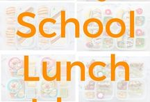 Lunch ideas / School and work lunch ideas for me and the kiddos