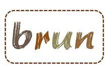 C'est brun / Brun - brown