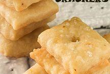 Crackers and Pretzels