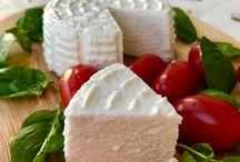 Ekmek ve peynir yapımı