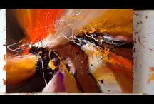 Videos / living abstract paintings, by Dan Bunea