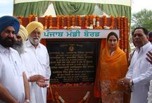 Laid Foundation Stones Of The Several Development Works / Punjab has been contributing 90 per cent of its income to the national exchequer, in response the Punjab is getting less than one per cent of the total allocation of the center reserve for the states. Congress has always adopted an apathetic attitude towards the state, a testimony to it was that the Congress led UPA government has ruined the industry and agriculture of state by enacting anti Punjab policies.