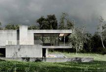 Easst.com / concret house / Poland / Concrete residence design in Poland.