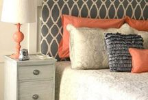 bedroom decor ideas / by Ericka Shaffer