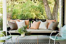 Porch/ exterior ideas / by Sue Wilson Lanning