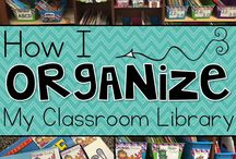 Organizing a classroom library