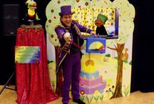 Poppentheatervoorstellingen van Theater Fantast / Poppentheatervoorstellingen (poppenkast) van Theater Fantast