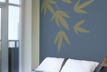 No painting, no mess: Add art on your wall   S'tics Deco / You'll find creative ways to use our S'tics Deco collection. Want to change the decor in your bedroom? Living room? Bathroom? Or even in the kitchen? Save time and money, just peel and stick!