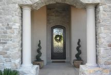 Door Entrances / Beautiful doors and doorway entrances that are specially designed for each home! / by Visionmakers International