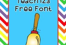 Clipart, Fonts & Papers