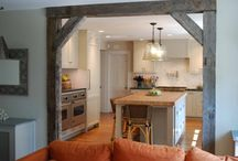 idea's for kitchen beams