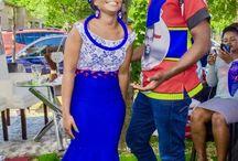 Swazi wedding dresses