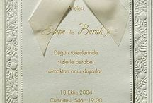 Davetiye (Wedding invitation)