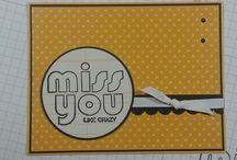 Cards Miss you / by Bev Epstein