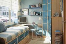 Маленькие комнаты для подростков