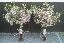 Wedding bouquets i've made