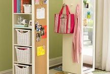 Organizing Things - Storage / by Stephanie Crump