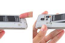 Hvordan bytte batteri på Samsung Galaxy S5