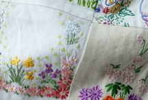 Embroidery / Vintage or new, embroidery always makes me cheery