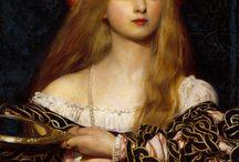 Pre Raphaelite Adoration