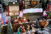 Christmas Village Layouts