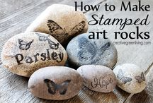 Stone Drawing Art