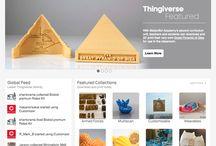 3d printer ideas / by Katie Thompson